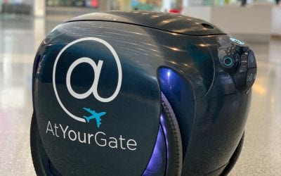 AtYourGate Brings the gita Following Robot to Airports